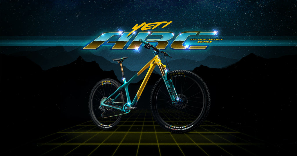 Yeti 35th Anniversary mountain bike ARC For The Riders Brisbane Australia