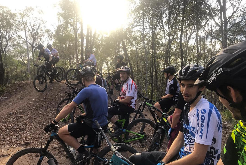 Mountain biking Brisbane Castle Hill For The Riders