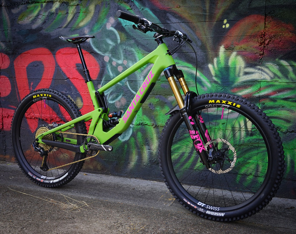 Santa Cruz Nomad For The Riders Brisbane mountain bike shop