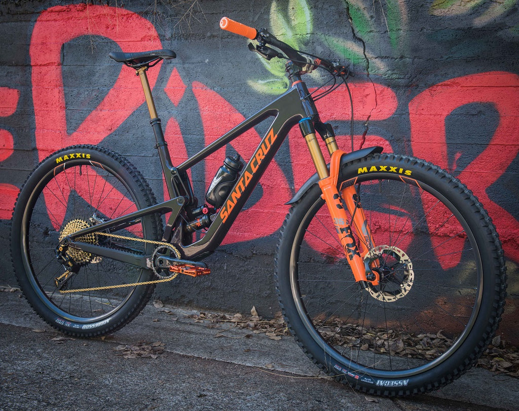 Santa Cruz Tallboy Custom Build For The Riders mountain bike store Brisbane