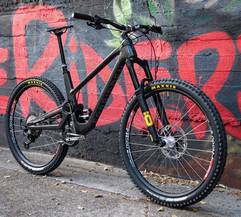Custom Forbidden Druid Mountain Bike For The Riders Brisbane MTB Store