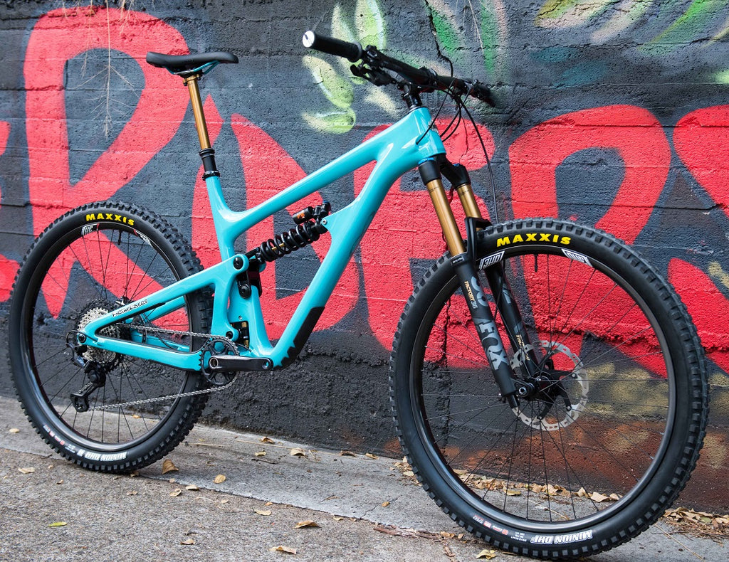 Buy Custom Yeti SB150 mountain bike For The riders Brisbane MTB shop
