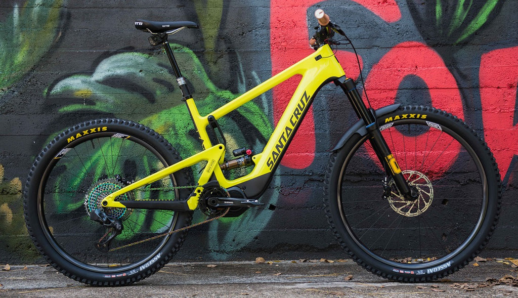 Custom E-Bike Santa Cruz Heckler For The Riders Brisbane MTB store