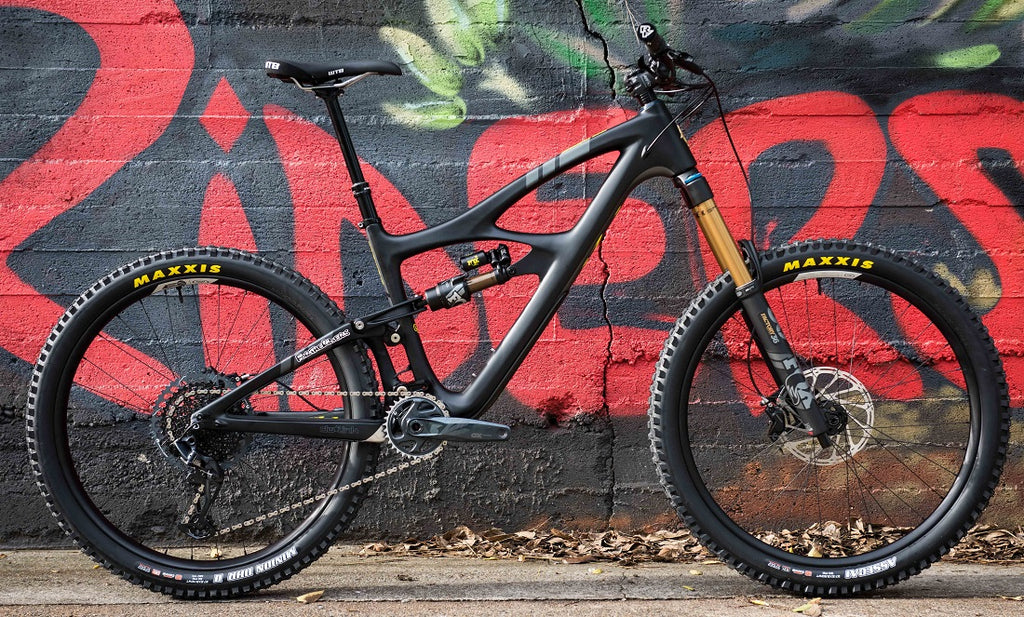 Ibis Mojo DH custom build For The Riders Brisbane mountain bike store