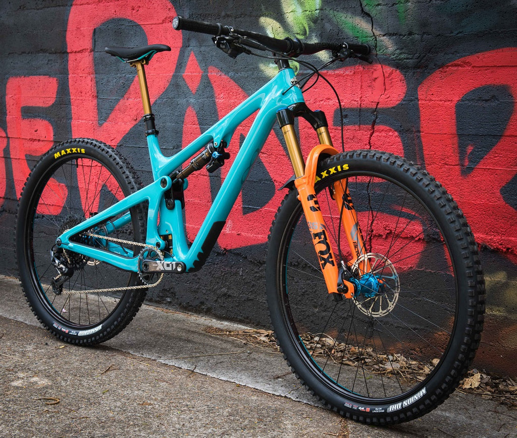 Custom Yeti SB130 mountain bike buy For The Riders Brisbane mountain bike shop