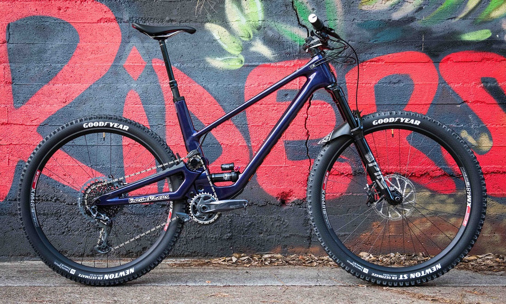 Custom Forbidden Druid For The Riders mountain bike store Queensland
