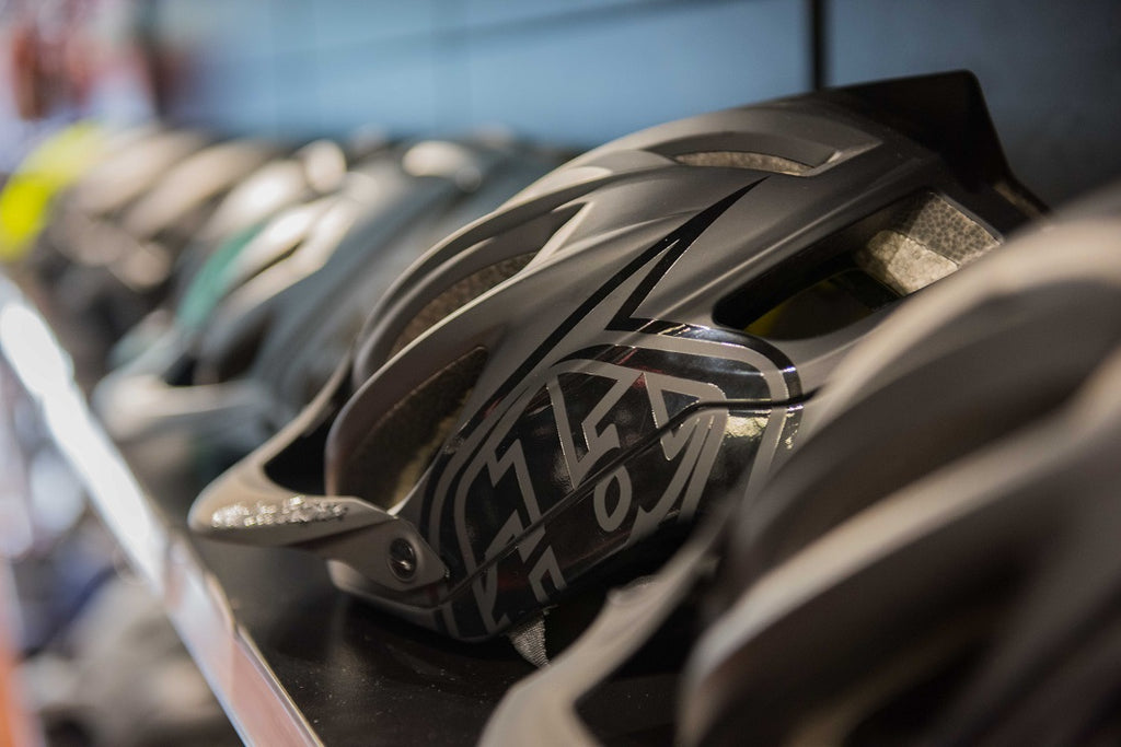 Shop mountain bike helmets online Australia For The Riders MTB store