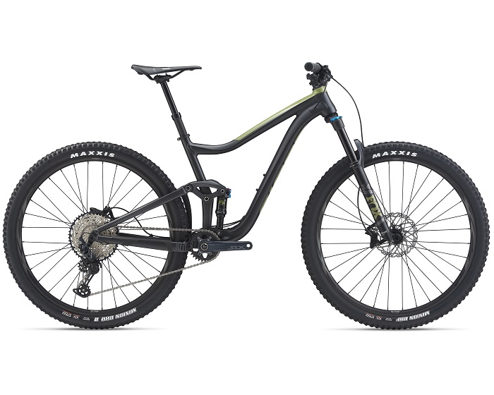Aluminium dual suspension mountain bikes Giant Trance 29