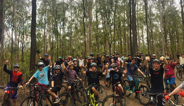 Mountain bike riding Brisbane QLD For The Riders