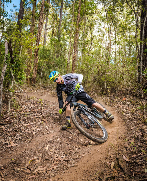 Gap Creek MTB Rider Brisbane Berm
