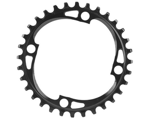 Absolute Black 104BCD Narrow Wide 11 Speed Chainring For The Riders