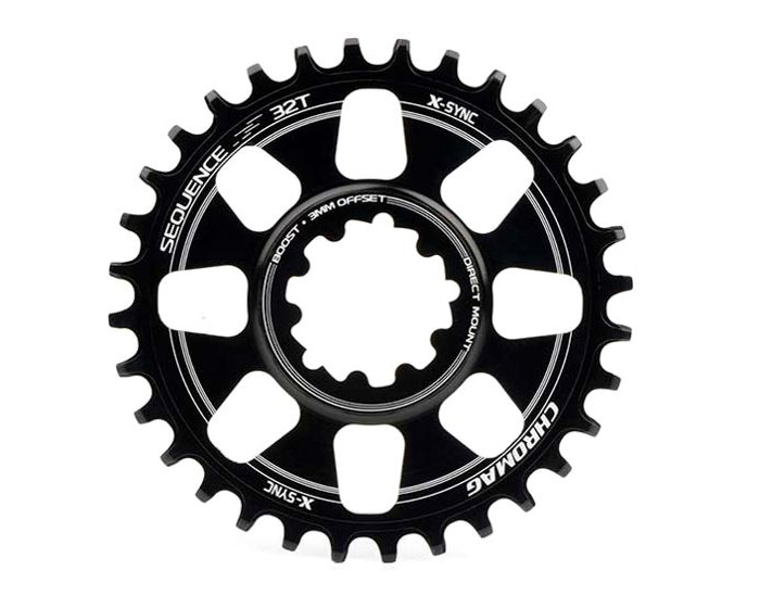 Chromag Sequence Sram Direct Mount X-Sync 11 Speed Chainring For The Riders