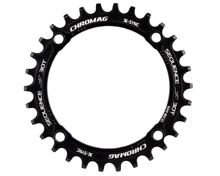 Chromag Sequence 104BCD X-Sync 11 Speed Chainring For The Riders