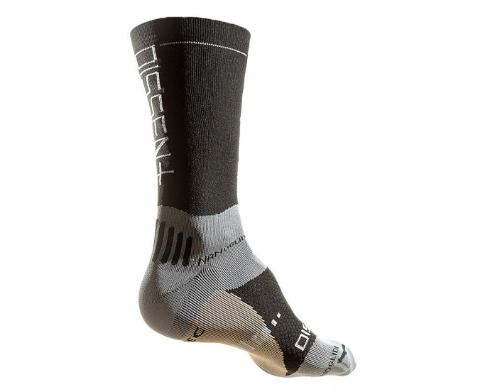 Dissent Super Crew +Cu Compression Sock For The Riders