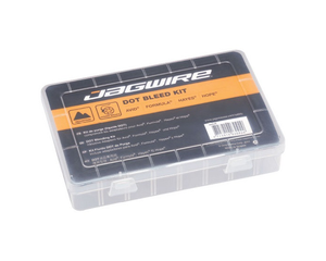 Jagwire Dot Fluid Bleed Kit For The Riders