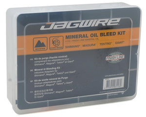 Jagwire Mineral Oil Bleed Kit For The Riders
