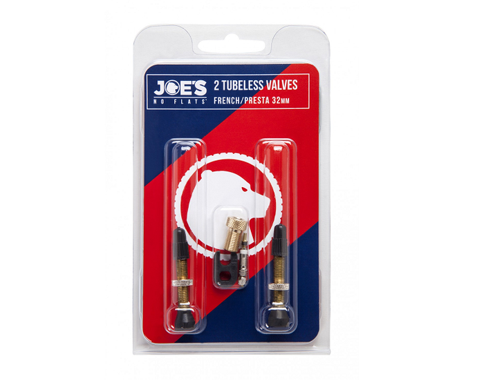 Joes No Flats Valve Twin Pack For The Riders