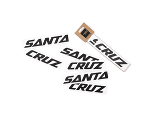 Santa Cruz Custom Downtube Decal For The Riders