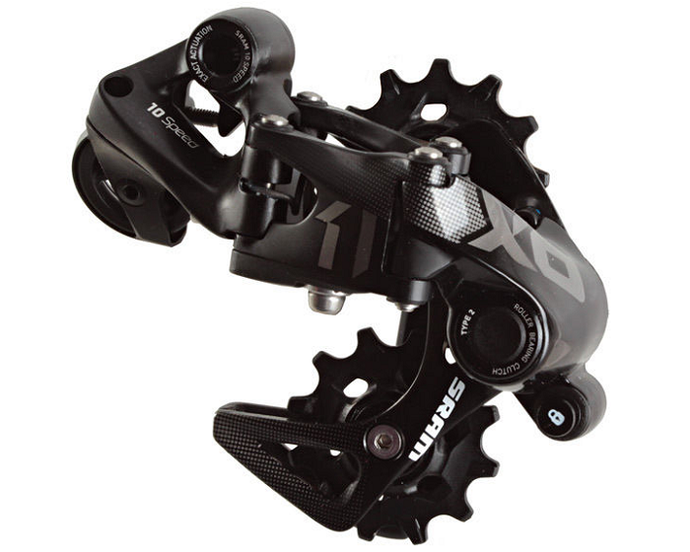 SRAM X01 DH 10Speed Short Cage Rear Derailleur For The Riders