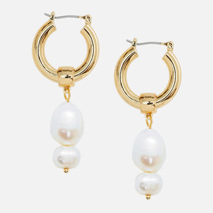 North North North Guldperleøreringe | Johnson Earring Gold