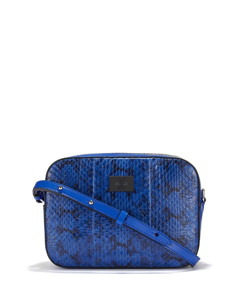 Boxy Snakeskin Leather - Gianoi