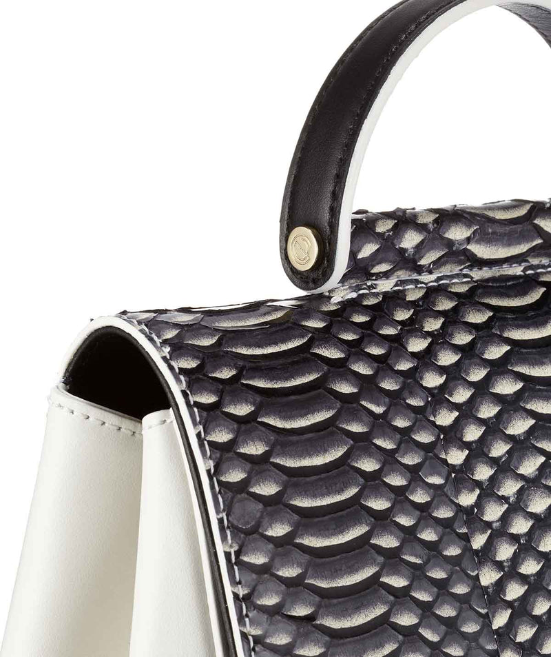 Nadia Small Snakeskin Leather
