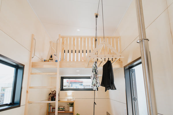 Pulley Laundry Rack