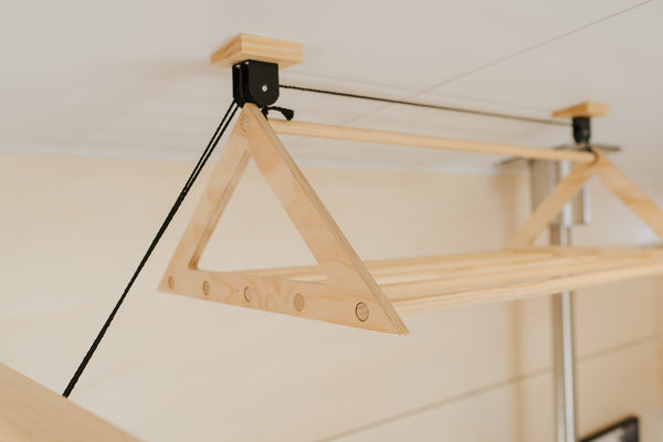 Pulley Laundry Rack - variantspaces.com