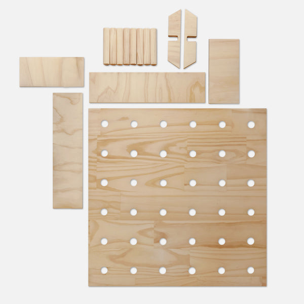 Pegboard Flatlay - Variant Spaces