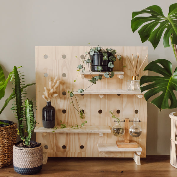 Pegboard with plants - Variant Spaces