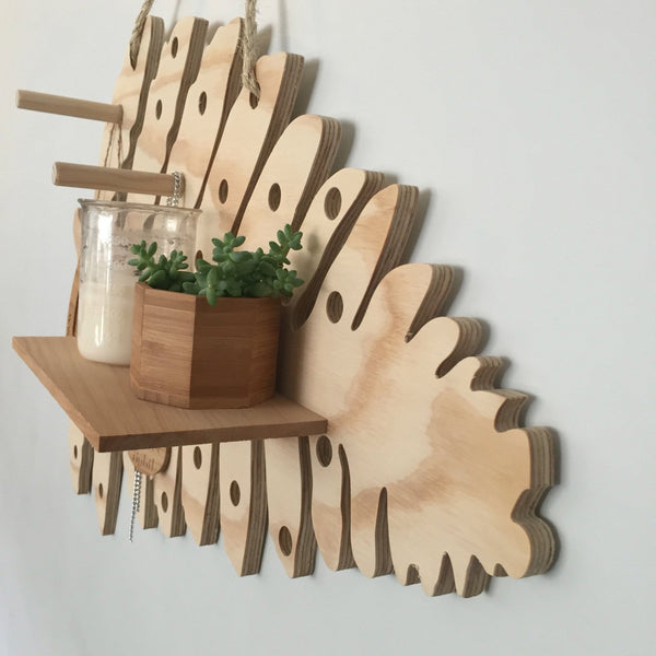 Shaped pegboard