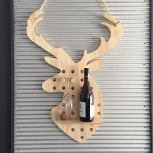 Stag Shaped Pegboard - variantspaces.com