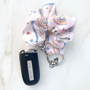Save the Children Scrunchies Keychains