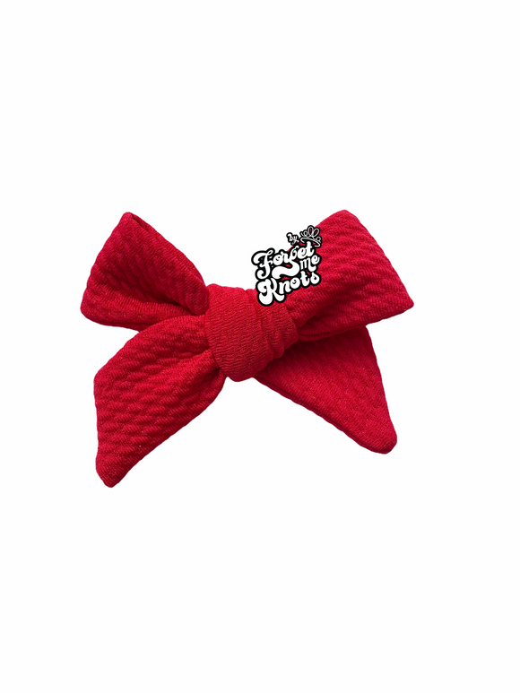 Red Emmy Bow