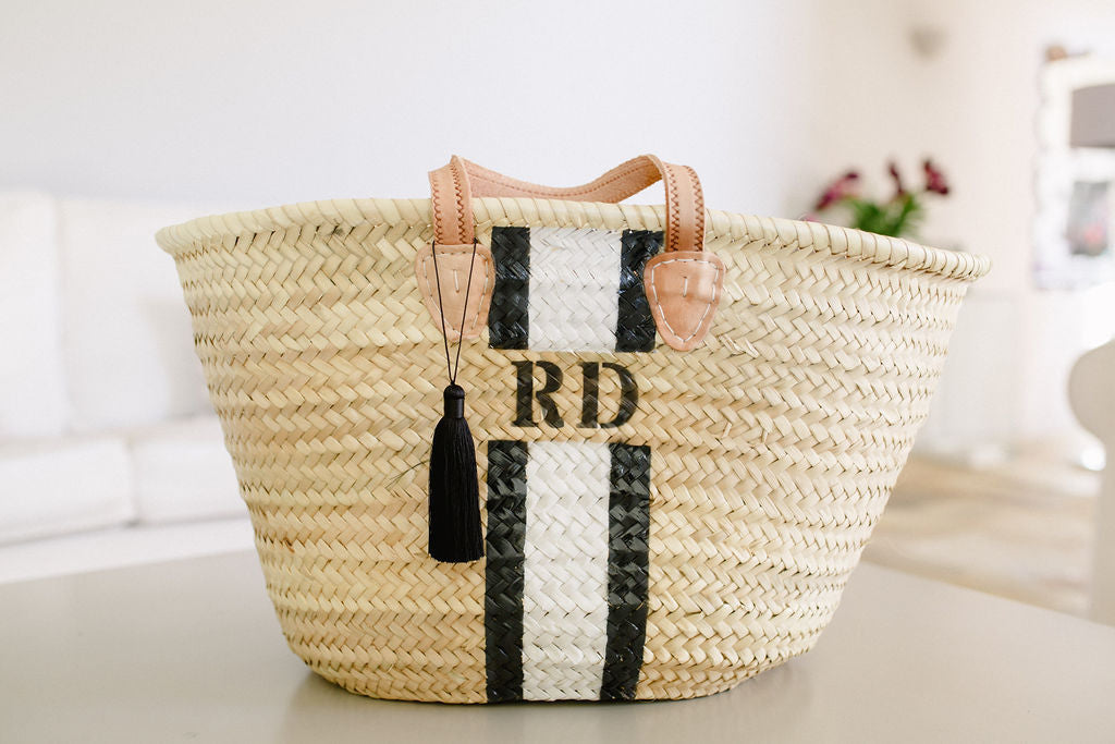 The Millie Basket /Black & White