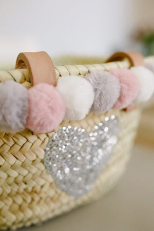 The Livvy Mini Me Basket Fluffy