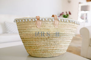 The Millie Basket - Classic french grey