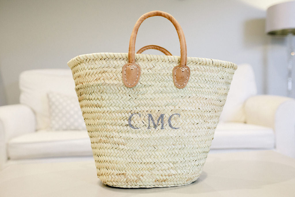 The Millie Basket - Leather