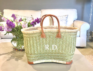 The Rebecca Vintage Basket - Natural