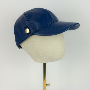 'Becca' Baseball Cap with Petersham Trim Detail and Tag