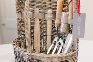 New!! Large Deluxe Garden Tool Basket