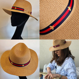 Navy Summer Hat