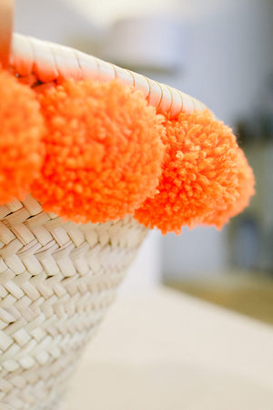 The Millie Petit Pom Pom Basket