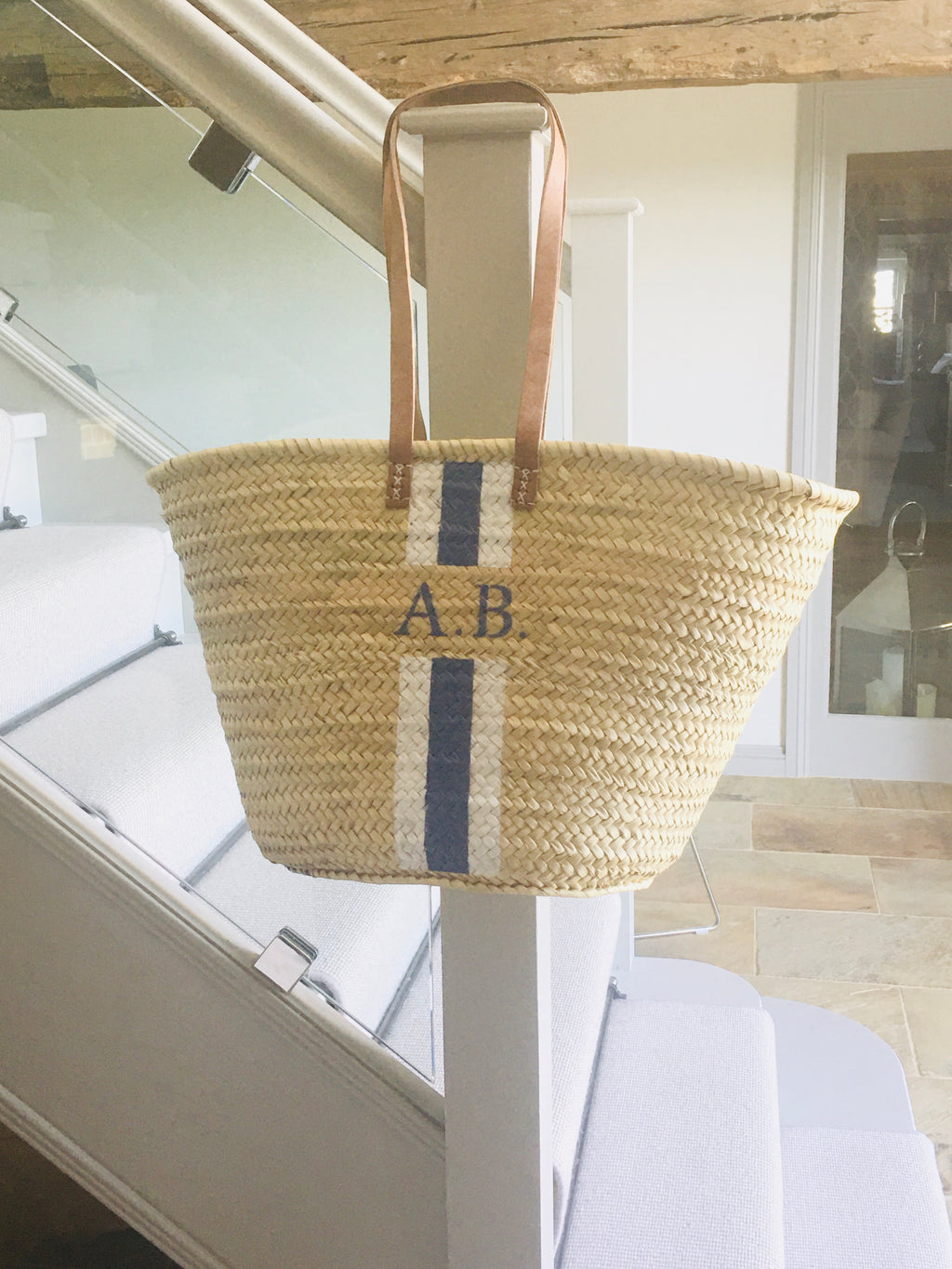 The Millie Basket with 'Long' Handles