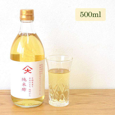 "Pure Rice Vinegar ""Yamadai"" 500 ML - Rice Vinegar Made From Organic Rice"