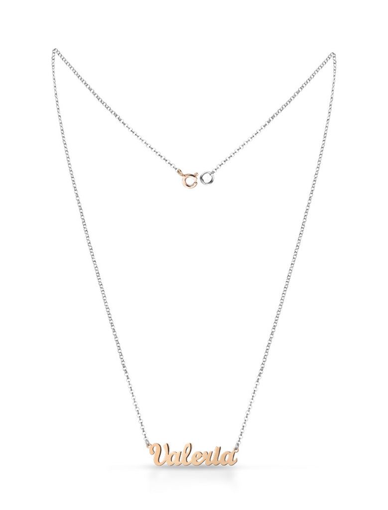 COLLANA IN ARGENTO 925 CON NOME Madewithlove - melissajewels