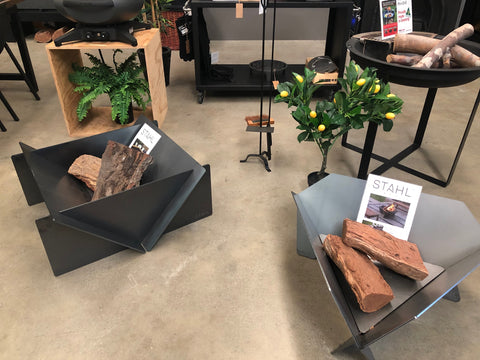 Stahl Firepit Stockist - Wignells of Melbourne - Abbotsford Showroom