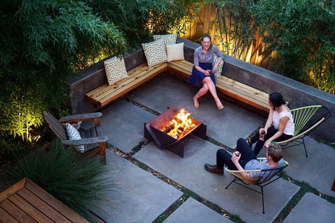 Simple Backyard Fire Pit Ideas | Flat Pack Fire Pit