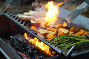 Stahl Grill Plate | Outdoor Cooking | BBQ Plate | Grilled Food | Good Food | Cook Outside | Wood Fired Cooking