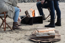 Load image into Gallery viewer, The Stahl Camper And Frost River Firepit Sling Go Hand In Hand When Camping.